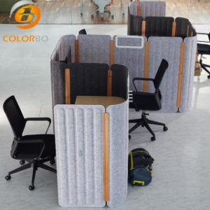 Neuer umweltfreundlicher Polyester-Faser-Büro-Schreibtisch-Partition-fehlerfreie Absorptions-Bildschirm