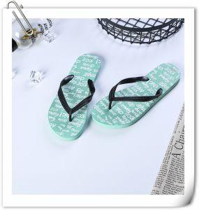 Les hommes personnalisés EVA pantoufles de gros Non-Toxic Flip Flops de conception
