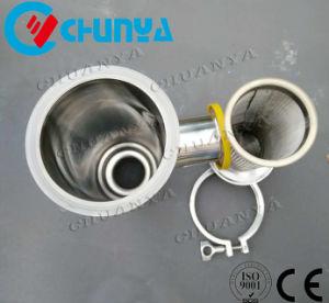 Aço inoxidável (SS304 SS316) do alojamento do filtro de água de condutas para a purificação da água do sistema RO