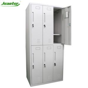 Mobiliário de armazenamento durável Ginásio Locker/cacifo pessoal/Armário de Aço