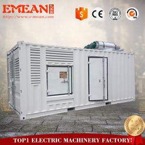 С нами при полной нагрузке двигателя электрический 600квт 750 ква бесшумный дизельный генератор