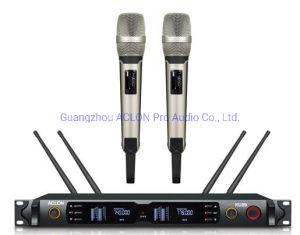 PRO Audio concerto ao vivo quatro canais UHF microfone sem fio