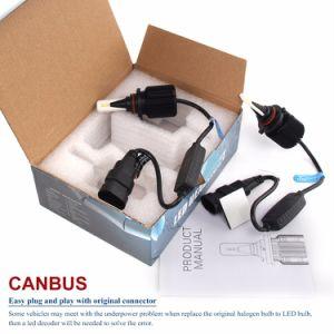 Nuevo brillante de alta potencia 8000LM Fanless 4p J1 Chips Csp Canbus 9005 9006 H11 12V de la cabeza del Kit de faros Bombilla H7 H4 LED Auto