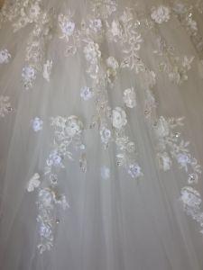 Les robes de mariage de luxe bille Puffy Cap manches robes de mariée W201794