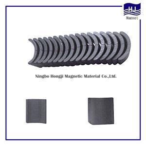 Magneto de ferrite Watt Permanente sinterizado Produto arco com alta qualidade