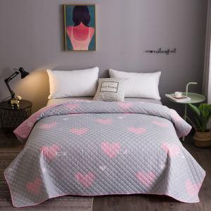Nantong Home Supllier Têxteis Microfibra grossista calor ultra-sónico estampadas Home Colcha Verão Manta de Retalhos