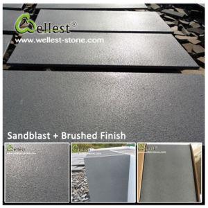 Bluestone cinza preto pedra de lava para pavimentadoras de mosaico de basalto/Pavimentação/Piso/Flooring/revestimento de paredes