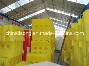 O tráfego de plástico com água barreiras rodoviárias Factory