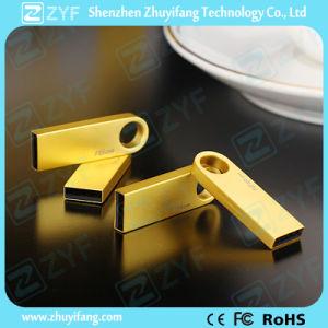 ロゴ(ZYF1749)の小型金の金属USBのフラッシュ駆動機構