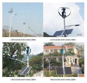 200W 300W 400W 12V 24Vの風力の風の太陽街灯のハイブリッド