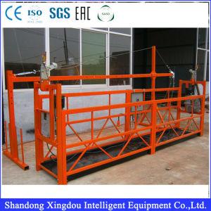 Zlp630 алюминиевые опоры маятниковой подвески платформы для очистки стекла Abseiling инструменты