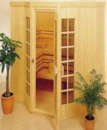 Fashionable Wood Sauna SPA Douche (SR141)