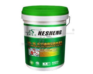 Hs16 K11 2構成の概要ポリマーによって修正される混合の防水のコーティング/液体の応用防水の膜