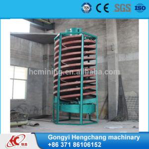 Alta strumentazione efficiente dello scivolo a spirale in Cina