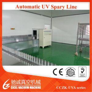 PVD che metallizza macchina per la riga UV della verniciatura a spruzzo