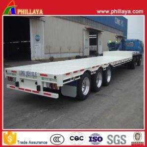 30-60 ton do Eixo 2 Eixo 3 Lowboy Cisne Caminhão Baixa semi reboque