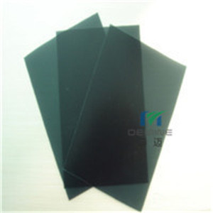 Película de PC preto para impressão de seda