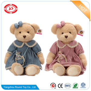 Blaues Teddybär-Spielzeug-weiches Fantasie-Kind-Plüsch-Tier angefüllter Bär