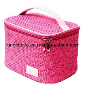 Unité centrale rose de mode avec le sac cosmétique d'aileron (KCC24)