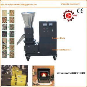 Lebendmasse-mini hölzerne Tabletten-Presse-Maschine des Sägemehl-Mkl225 mit Cer