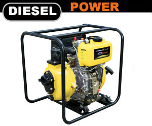 2 pulg./2 /50mm de doble Impellors Diesel de alta presión de la bomba de agua contra incendios