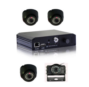 H., 264 Sd Card Mobile DVR 4CH Multi-Language u. Überwachungssystem