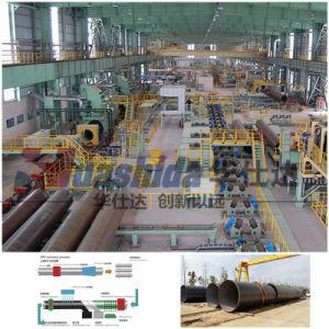 良質3PE反Corrosion Fbe Coating Spiral Production Line