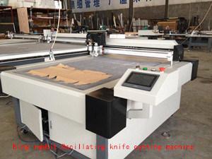 Máquina de corte CNC Digital Máquina de corte de cuchilla oscilante