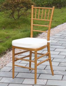 Wedding를 위한 금 Resin Chiavari Chair