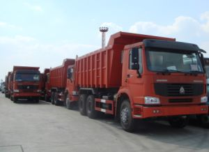 De Vrachtwagen van de Stortplaats van HOWO 18m3 Zz3251n3441A