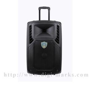 Более дешевый перезаряжаемые активно диктор Bluetooth Speakertrolley с входным сигналом USB/SD, Bluetooth, FM, индикацией MP3