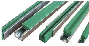 La tira de desgaste y plástico, las guías laterales de transportador de cinta transportadora aa-J620.