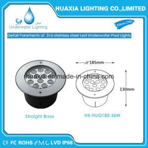 indicatore luminoso subacqueo sotterraneo del raggruppamento messo 36watt di 316ss IP68 LED
