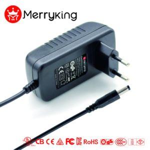 Adaptador de corriente universal de montaje en pared de la UE 12V 3A AC DC Adaptador de alimentación de conmutación