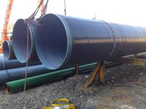 PEの上塗を施してある反腐食の地下の下水の螺線形の鋼管