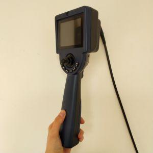Manette d'endoscope industriel Caméra vidéo avec lentille de caméra à 4,0 mm, 2.0m Câble d'essai, écran LCD 3,5 pouces