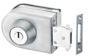 Fechadura central de porta de vidro corrediço de porta de vidro duplo (FS-224)