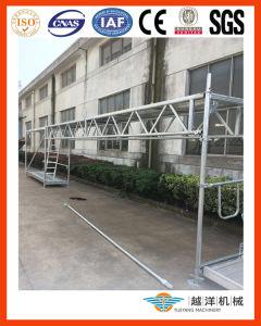 Sistema de andaimes fachada em conformidade com o estilo Layher (FAS-S)