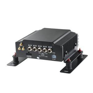 Bewegliches Aufnahme-System des Auto-DVR, 4CH HDD verdoppeln Ableiter-Karten, Support 3G/4G, GPS und Wi-FI
