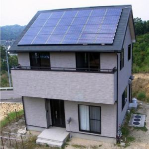 Hybride Woon Volledig ZonnePV Model voor het Gebruik van het Huis