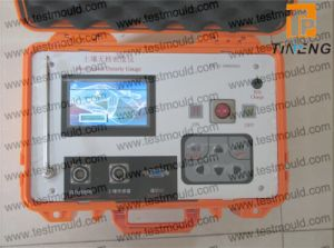 Calibro elettrico di densità di alta qualità/calibro elettrico non nucleare di densità terreno automatico portatile
