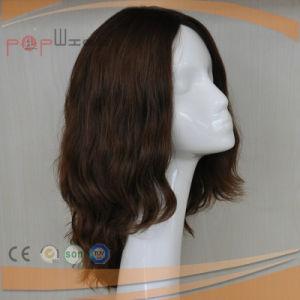ブラウンカラーベストセラーの長い人間の毛髪のかつら(PPG-l-0182)