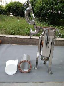 Filtro a sacco superiore dell'entrata per elaborare liquido