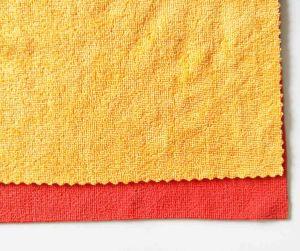 新しいOverlockingの綾織の技術の多目的Microfiberの清拭布