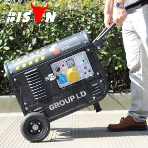 Luftgekühlter einzelner Zylinder-bewegliche Benzin-kupferner Draht-bewegliche Benzin-Generatoren des Bison-(China) BS2500c (H) 2kw 2kv