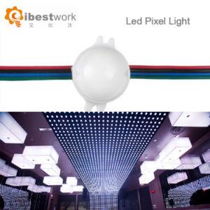 Indicatore luminoso cambiante 30mm del pixel LED della fase RGB di colore indirizzabile di DC12V