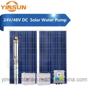 DC 24V 48V最大ヘッド16m太陽水ポンプ