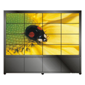 Enjoliveur 5,3 mm 49pouces Yashi épissage mur vidéo LCD affichage publicitaire