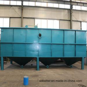 Décanteur lamellaire en acier au carbone pour le blanchiment et de teinture de traitement des eaux usées