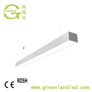 Indicatore luminoso lineare di alluminio dell'ufficio LED di alto potere di profilo della garanzia da 3 anni